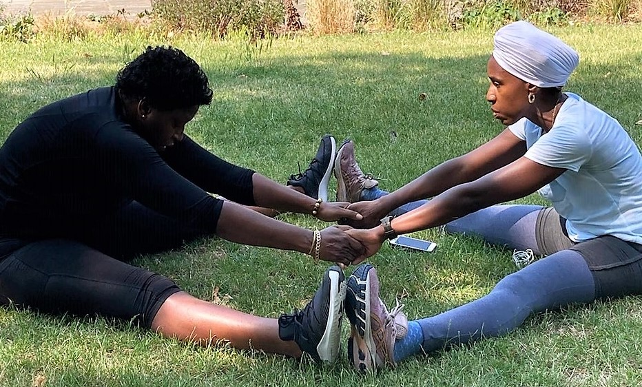 Summer fitness workout with Mica Paris and Jacqueline Harvey