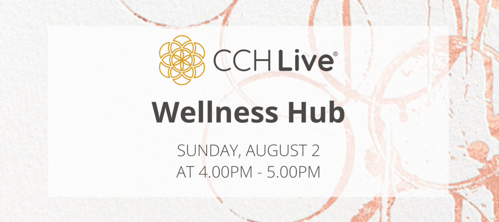 Wellness Hub 02Aug20