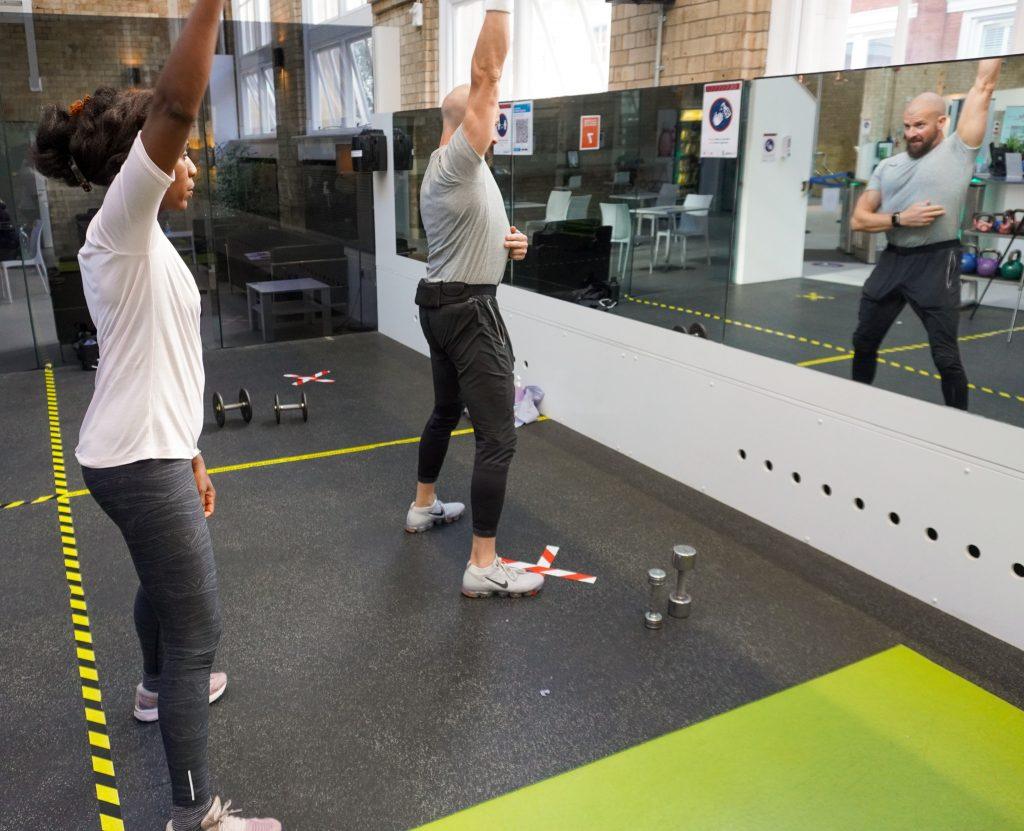 Antony Beeston fitness session