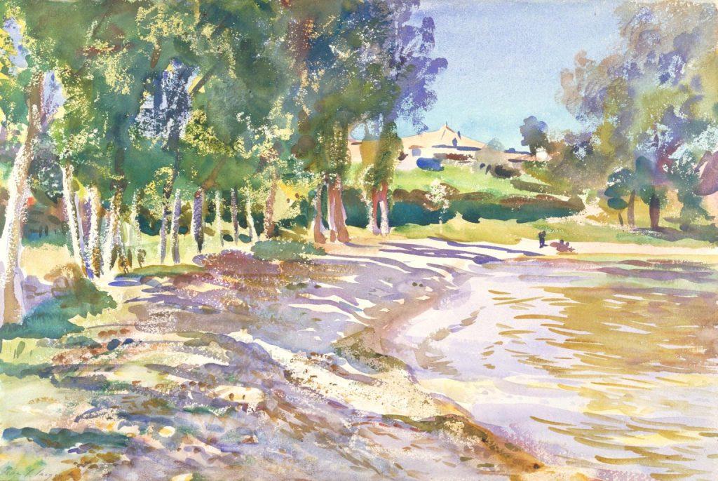 San Vigilio, Lago di Garda c.1913 by John Singer Sargent 1856-1925