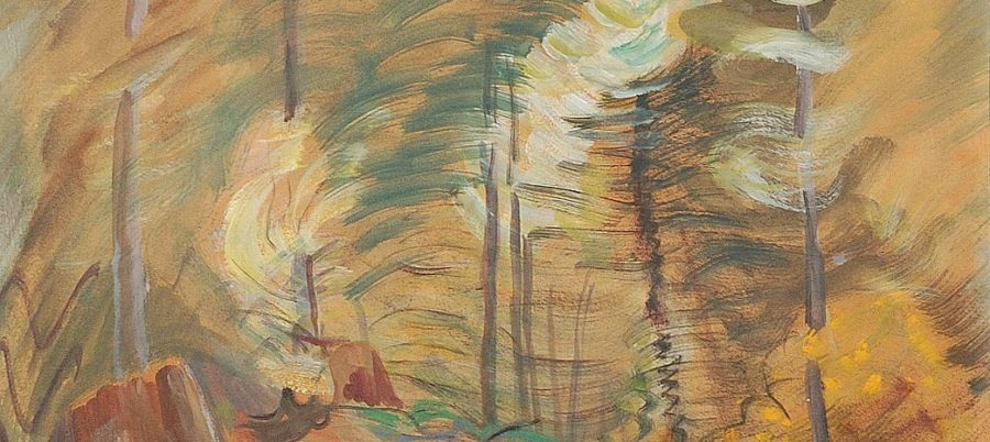 Emily Carr Young and Old Trees (1935)