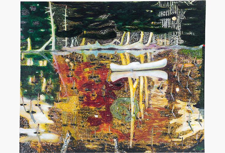 Peter Doig Swamped