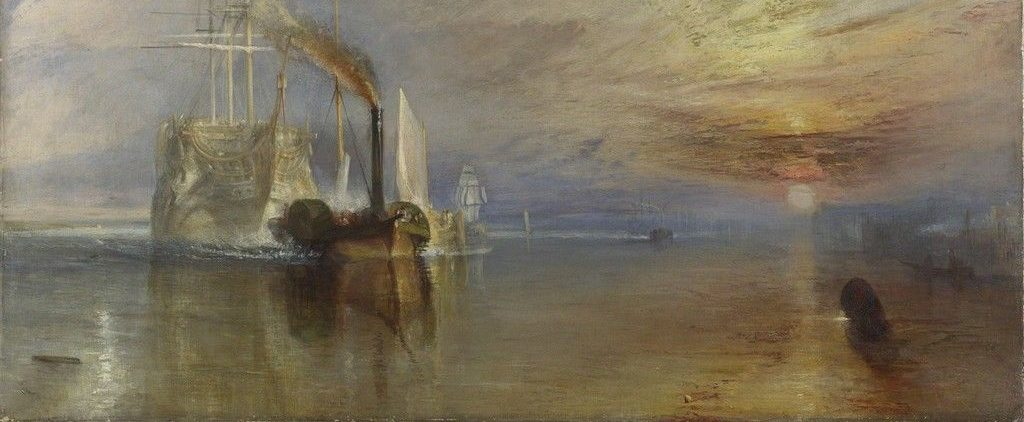 JMW Turner The Fighting Temeraire (1839)