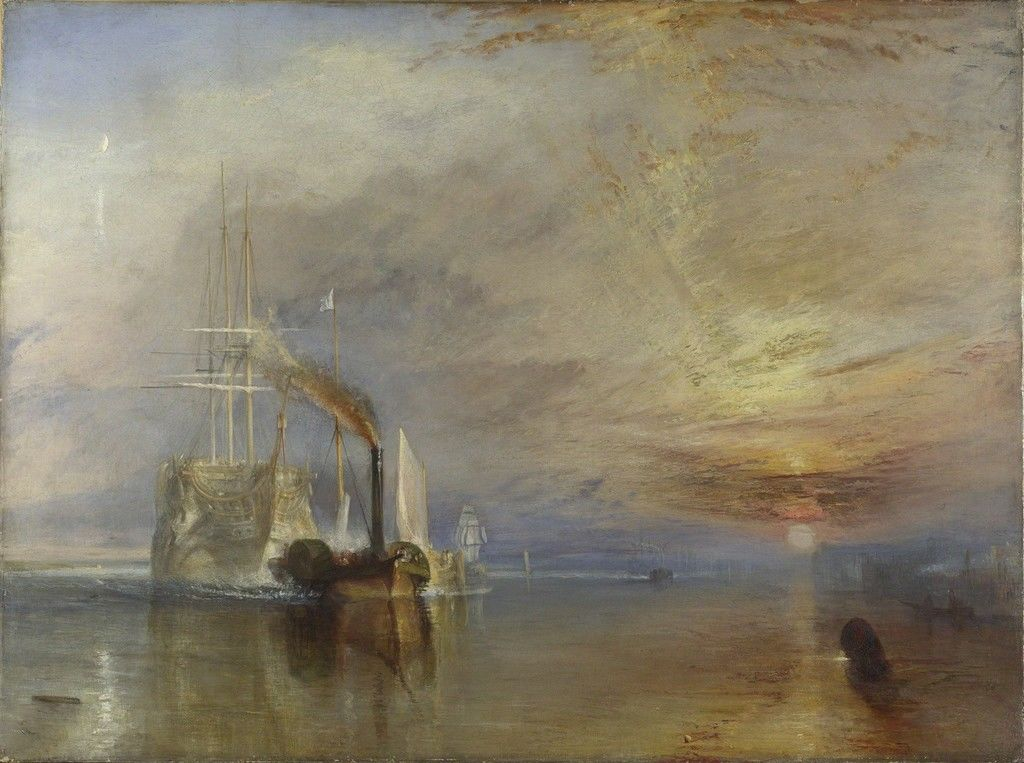 JMW Turner The Fighting Temeraire (1839)